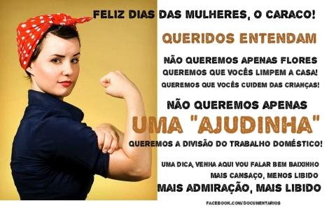 Mensagem para o Dia das Mulheres